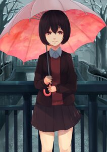 Rating: Safe Score: 19 Tags: akira_(mr_akira) seifuku sweater umbrella User: charunetra