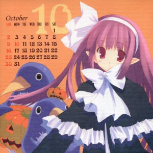 Rating: Safe Score: 6 Tags: calendar cut_a_dash!! disgaea mitsumi_misato paper_texture prinny witch User: cheese