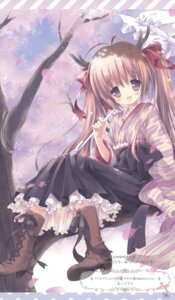 Rating: Safe Score: 24 Tags: frill_frill japanese_clothes morinaga_korune User: petopeto