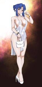 Rating: Questionable Score: 22 Tags: areola dress grapingu heels kawashima_ami no_bra toradora! User: Genex