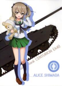 Rating: Safe Score: 32 Tags: girls_und_panzer seifuku shimada_arisu silhouette User: drop
