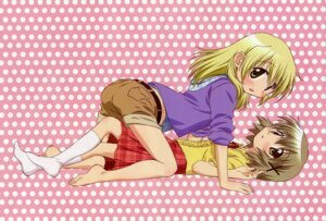 Rating: Questionable Score: 25 Tags: bleed_through fixed hidamari_sketch itou_yoshiaki miyako yuno yuri User: petopeto