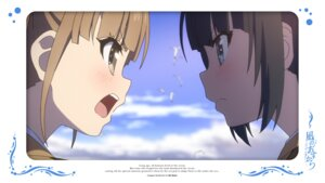 Rating: Safe Score: 11 Tags: hisanuma_sayu nagi_no_asukara shiodome_miuna User: alice4