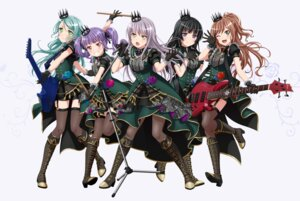 Rating: Safe Score: 18 Tags: bang_dream! guitar heels hikawa_sayo imai_lisa minato_yukina shirokane_rinko stockings tagme thighhighs udagawa_ako User: saemonnokami