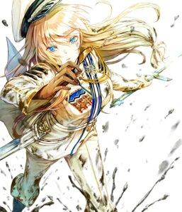 Rating: Safe Score: 18 Tags: saijou_yukina sword uniform User: saemonnokami