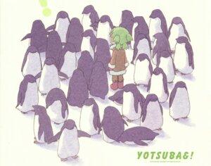 Rating: Safe Score: 9 Tags: koiwai_yotsuba paper_texture penguin yotsubato! User: Radioactive