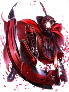 Rating: Safe Score: 42 Tags: ass dress lain pantyhose ruby_rose rwby weapon User: Mr_GT