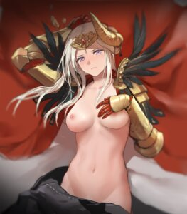 Rating: Questionable Score: 61 Tags: armor breast_hold edelgard_von_hresvelg fire_emblem fire_emblem_three_houses horns kisetsu naked_cape nipples pubic_hair User: BattlequeenYume