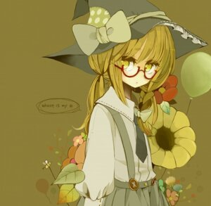 Rating: Safe Score: 28 Tags: kirisame_marisa megane purinto touhou witch User: hobbito