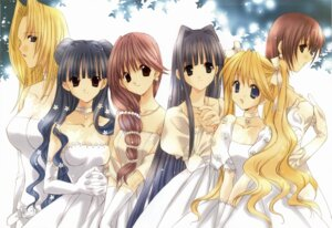 Rating: Safe Score: 6 Tags: angel_dust dress fixed nanase_aoi wedding_dress User: Radioactive