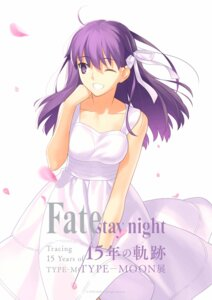 Rating: Safe Score: 32 Tags: dress fate/stay_night matou_sakura summer_dress takeuchi_takashi type-moon User: megumiok