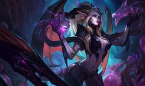 Rating: Safe Score: 21 Tags: armor cleavage horns league_of_legends monster no_bra pointy_ears tagme zyra User: Radioactive