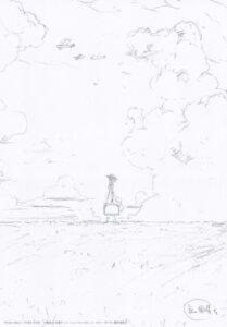Rating: Safe Score: 8 Tags: dress landscape monochrome sketch tagme violet_evergarden violet_evergarden_(character) User: onlythecomet
