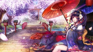 Rating: Safe Score: 38 Tags: kimono spirtie umbrella wallpaper User: Mr_GT