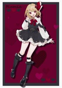 Rating: Safe Score: 13 Tags: daimaou_ruaeru dress gothic_lolita lolita_fashion rumia stockings tagme thighhighs touhou User: Dreista