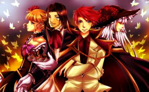 Rating: Safe Score: 2 Tags: beatrice dress maeda_aran ronove umineko_no_naku_koro_ni ushiromiya_battler virgilia User: charunetra