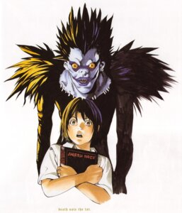 Rating: Safe Score: 3 Tags: death_note kagami_taro obata_takeshi ryuk User: Radioactive