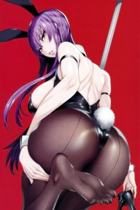 Rating: Safe Score: 57 Tags: animal_ears ass bunny_ears bunny_girl busujima_saeko feet fei highschool_of_the_dead maidoll pantyhose tail User: demonbane1349