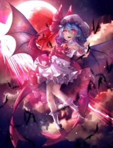 Rating: Safe Score: 19 Tags: chiaki_kou remilia_scarlet touhou wings User: Mr_GT