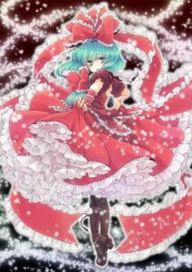 Rating: Safe Score: 12 Tags: kagiyama_hina n_saki touhou User: Nekotsúh