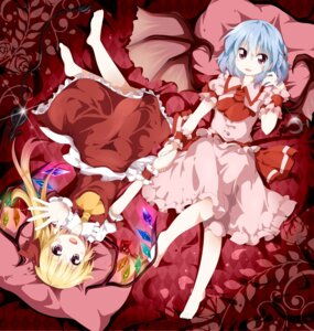 Rating: Safe Score: 29 Tags: flandre_scarlet remilia_scarlet touhou tsurukou User: 椎名深夏