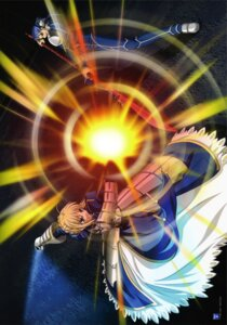 Rating: Safe Score: 4 Tags: fate/stay_night lancer saber User: Radioactive
