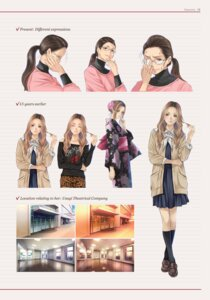Rating: Safe Score: 5 Tags: megane root_letter seifuku sweater yukata User: saemonnokami