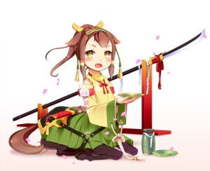 Rating: Safe Score: 20 Tags: animal_ears aoi_tsunami japanese_clothes monster_girl sword weapon User: charunetra