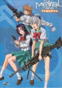 Rating: Safe Score: 9 Tags: full_metal_panic gun inaba_mizuki mikihara_ren seifuku teletha_testarossa User: Radioactive
