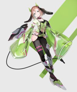 Rating: Safe Score: 15 Tags: animal_ears bunny_ears garter gun heels horns sunga2usagi tagme tail User: Dreista