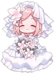 Rating: Safe Score: 21 Tags: akari_(qq941315189) chibi dress estellise_sidos_heurassein tales_of tales_of_vesperia wedding_dress User: charunetra