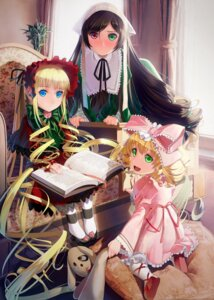 Rating: Safe Score: 32 Tags: dress gothic_lolita heterochromia hina_ichigo lolita_fashion okingjo rozen_maiden shinku suiseiseki User: Mr_GT