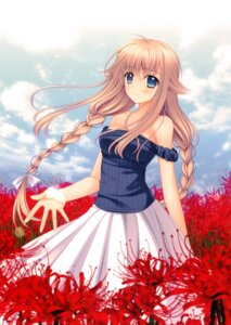 Rating: Safe Score: 40 Tags: dress nishimata_aoi summer_dress User: donicila