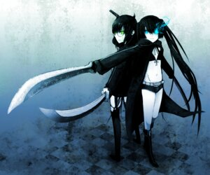 Rating: Safe Score: 8 Tags: black_devil_girl black_rock_shooter black_rock_shooter_(character) kawazu vocaloid User: Radioactive