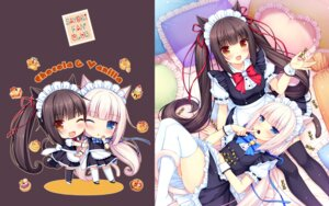 Rating: Safe Score: 40 Tags: animal_ears chibi chocola maid nekomimi nekopara sayori tail thighhighs vanilla wallpaper User: kotorilau