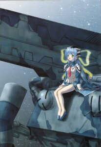 Rating: Safe Score: 4 Tags: hoshino_yumemi moonknives planetarian User: fireattack