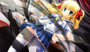 Rating: Safe Score: 9 Tags: asuka_pyon claire pantsu seifuku sin_kuro_to_kiiro_no_shoujo thighhighs User: Masterchief80