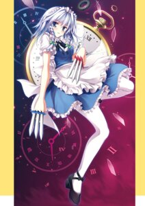 Rating: Questionable Score: 14 Tags: izayoi_sakuya maid tagme tateha touhou User: Radioactive