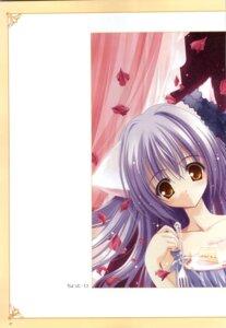 Rating: Safe Score: 3 Tags: animal_ears cafe_little_wish mina nekomimi tinkle User: syaoran-kun
