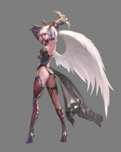 Rating: Safe Score: 39 Tags: armor kamael lineage_2 tagme thighhighs transparent_png wings User: Radioactive