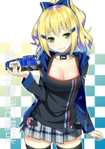 Rating: Safe Score: 48 Tags: cleavage sky-freedom thighhighs User: Radioactive