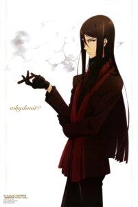 Rating: Safe Score: 13 Tags: lord_el-melloi_ii lord_el-melloi_ii-sei_no_jikenbo male nakai_jun smoking sweater waver_velvet User: drop