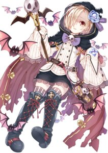 Rating: Safe Score: 30 Tags: namake shirasaka_koume the_idolm@ster the_idolm@ster_cinderella_girls thighhighs weapon User: Mr_GT