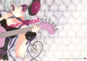 Rating: Safe Score: 18 Tags: guitar hato_no_tamago headphones rami thighhighs User: petopeto