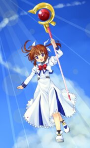 Rating: Safe Score: 3 Tags: 467 mahou_shoujo_lyrical_nanoha takamachi_nanoha User: Radioactive
