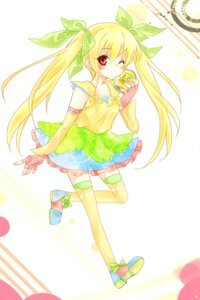 Rating: Safe Score: 17 Tags: c.c._lemon c.c._lemon_(character) nekoko16 thighhighs User: Phiris