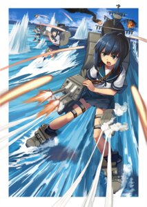 Rating: Safe Score: 16 Tags: fubuki_(kancolle) hatsuyuki_(kancolle) kantai_collection miyuki_(kancolle) sumith weapon wet User: Mr_GT