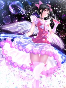 Rating: Safe Score: 43 Tags: dress love_live! swordsouls thighhighs wings yazawa_nico User: 椎名深夏