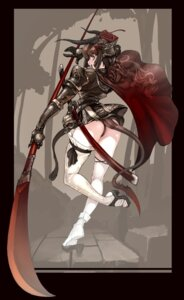 Rating: Safe Score: 43 Tags: armor horns jeffr pantsu thighhighs User: Radioactive