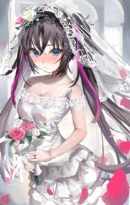 Rating: Safe Score: 21 Tags: cleavage dress no_bra tagme wedding_dress User: Mr_GT